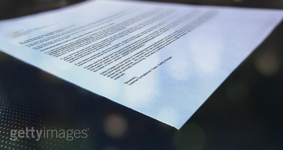 Getty Images Letter