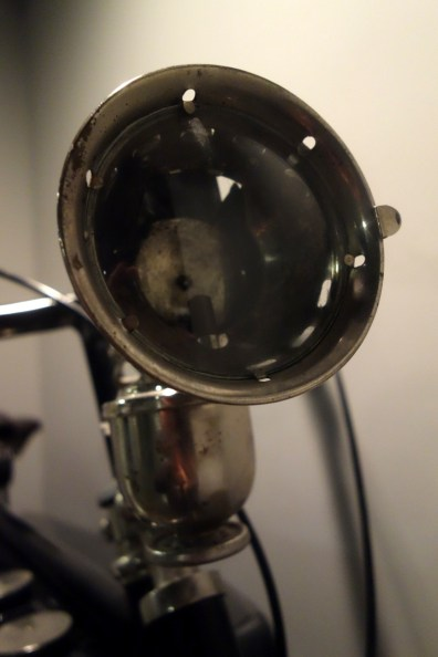 Alcyon 1924 350 cc from France, light fixture