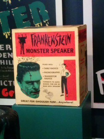 Frankenstein monster speaker box