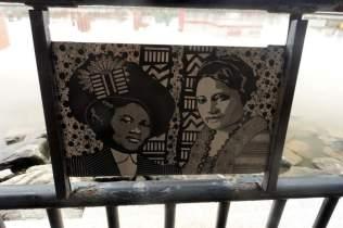 """Madam C.J. Walker and A'lelia Walker"" by Laura R. Gadson"