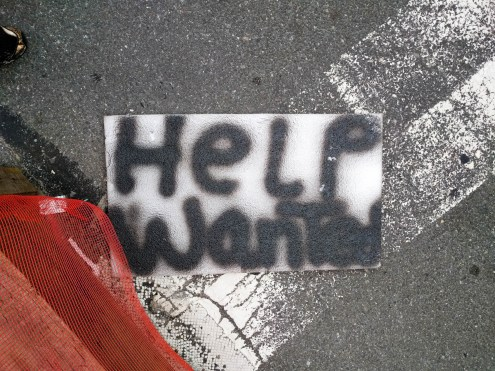 help wanted making help wanted signs