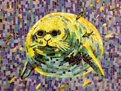 walrus mosaic