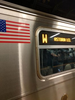 what what? W train!