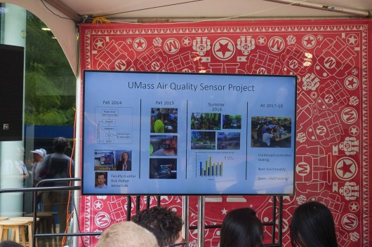 UMass Air Quality Sensor Project over 5 years of development