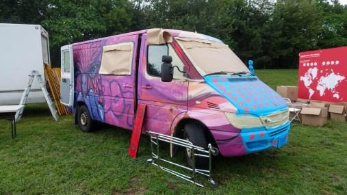 Ad Hoc Art vans