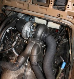 hypermax van turbo install for the 7 3 idi in a 1988 ford clubwagon [ 864 x 1296 Pixel ]