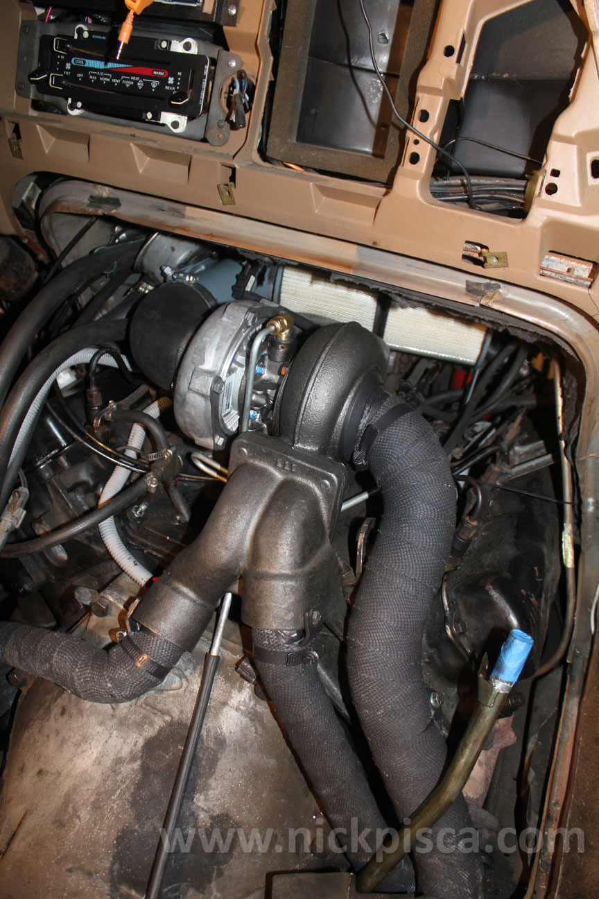 hight resolution of hypermax van turbo install for the 7 3 idi in a 1988 ford clubwagon