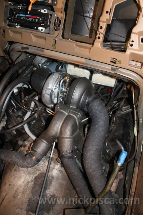 small resolution of hypermax van turbo install for the 7 3 idi in a 1988 ford clubwagon