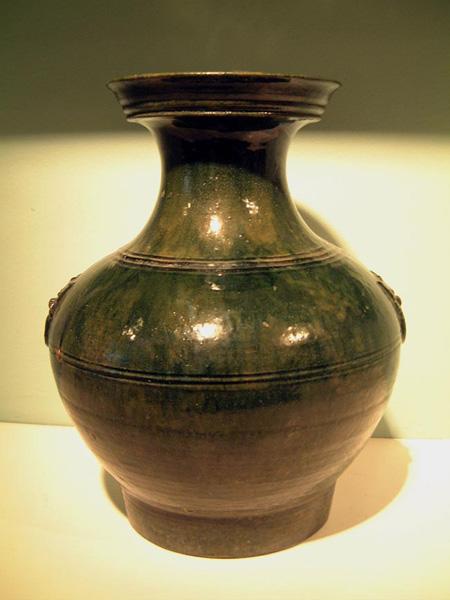 Large Han Pottery Jar Nicholas S Pitcher UK