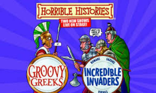 Horrible Histories Greeks Invaders