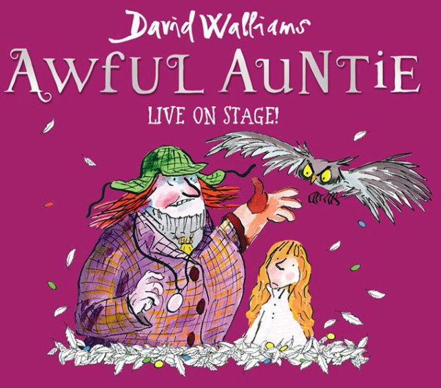 David Walliams 'Awful Auntie' UK Tour