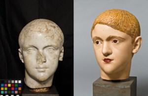 Young Roman. III century CE
