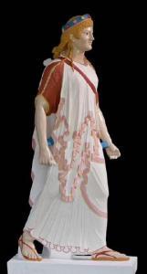 Artemis. Pompeii. Vinzenz Brinkmann reconstruction