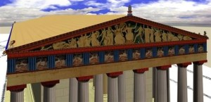 Another version of Parthenon. 400 BC