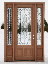 Front Doors Creative Ideas: Front Doors With Side Panels
