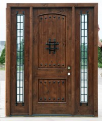 Most Popular Rustic Exterior Doors Knotty Alder clearance ...
