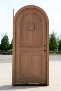 Top Doors & VG2020 Arch-top In Douglas Fir