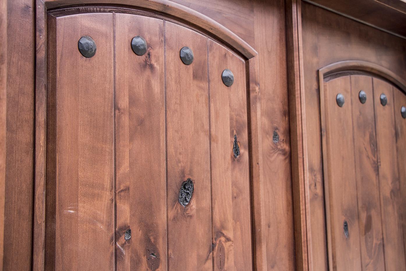 Rustic Double Door Clearance