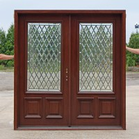 Exterior Double Door with 3 point lock