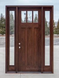 Craftsman Exterior Wood Doors in 8' CL-2121D