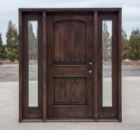 Rustic Wood Exterior Doors CL