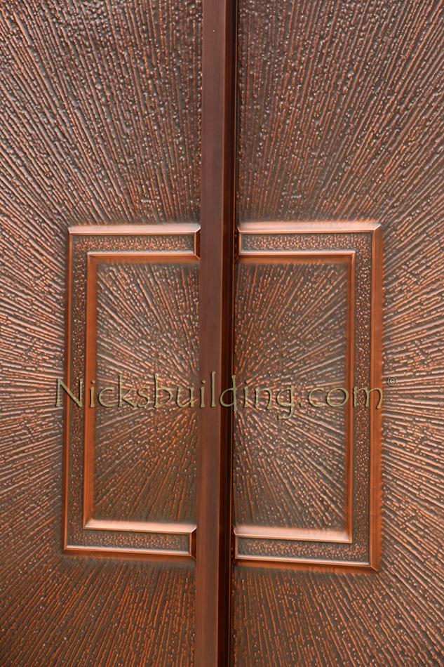 Copper Double Door  The Infinty