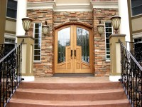Arched Top Mansion Doors