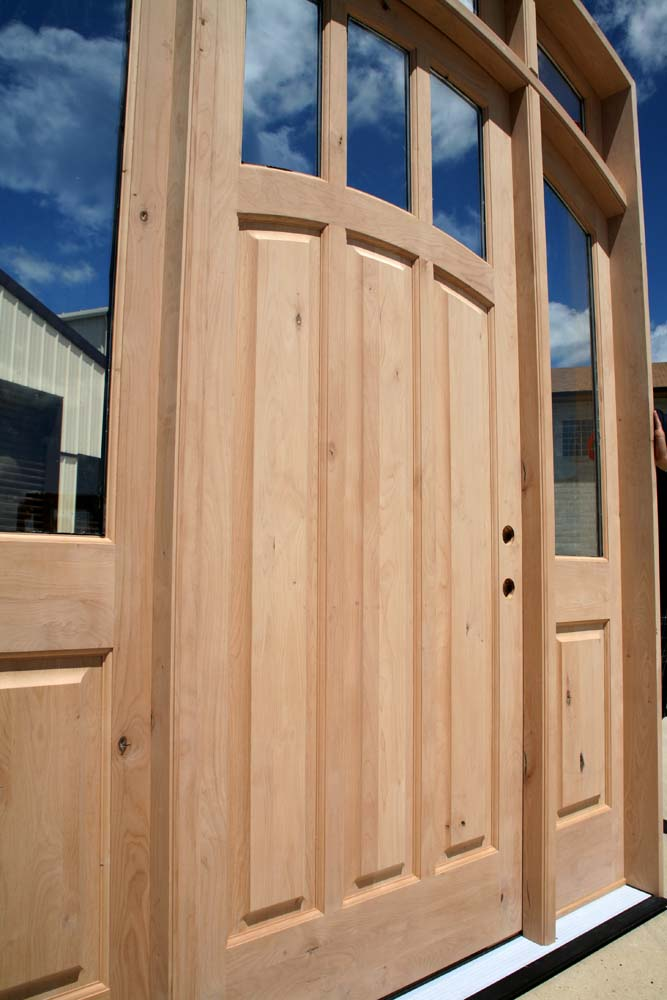 rustic knotty alder doors discounted clearance sale