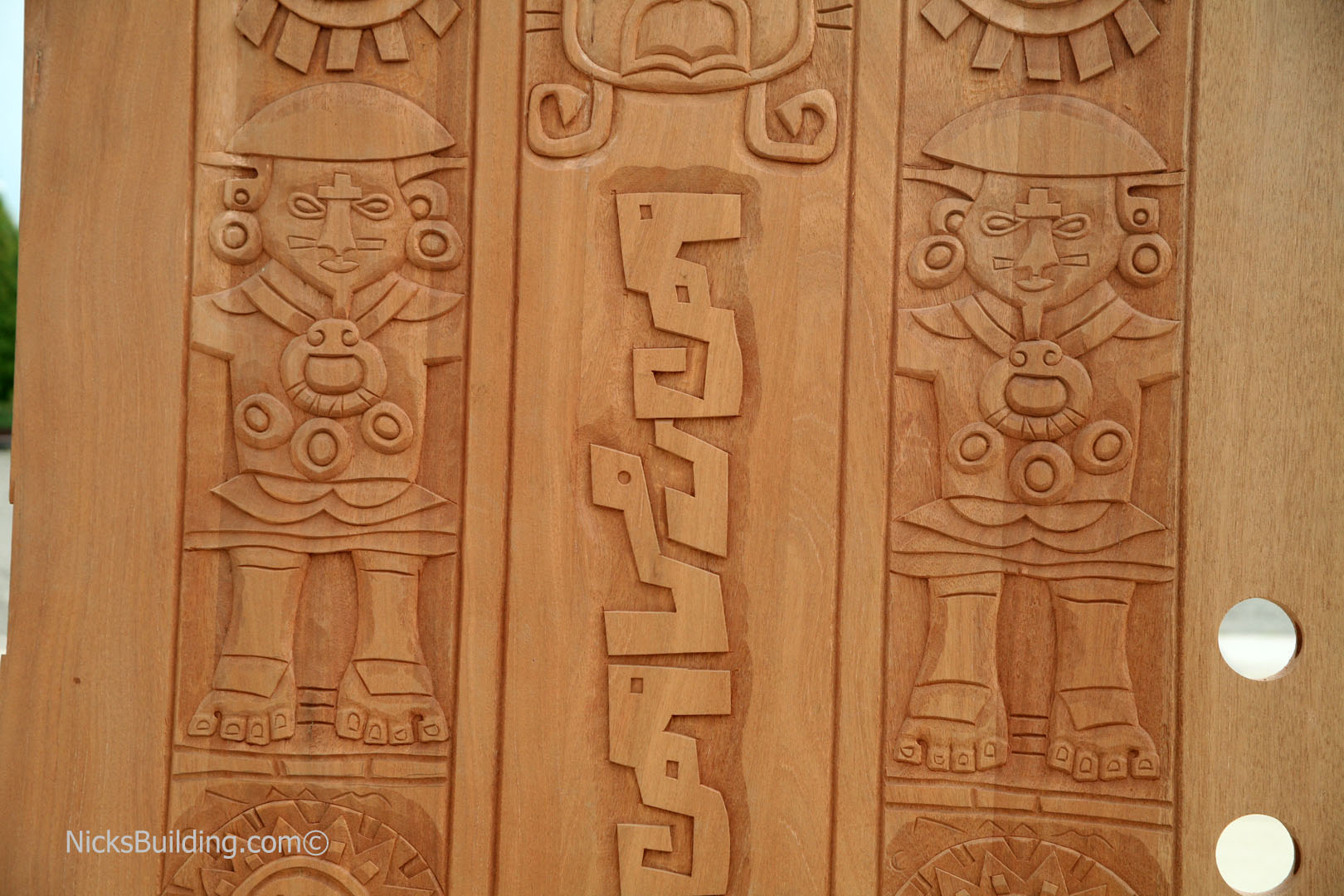 Carved Doors Exterior Hand Carved Mahogany Doors