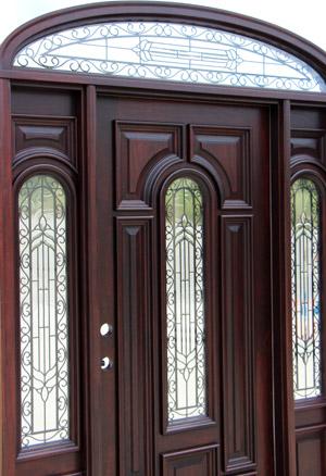 Exterior Doors Elliptical Transom