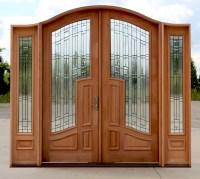 Double Doors: Arched Interior Double Doors