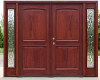 Double Entry Doors With Side Lights Pictures to Pin on