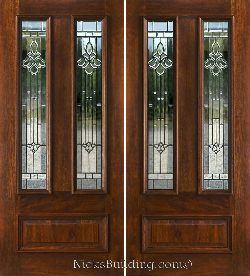 Double Doors: Double Front Entry Doors Glass