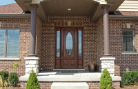 "Exterior Doors with Sidelites 8' 0"" - Solid Mahogany Doors"
