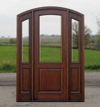 Arched Doors | Exterior Arched Top Doors | Mahogany Door
