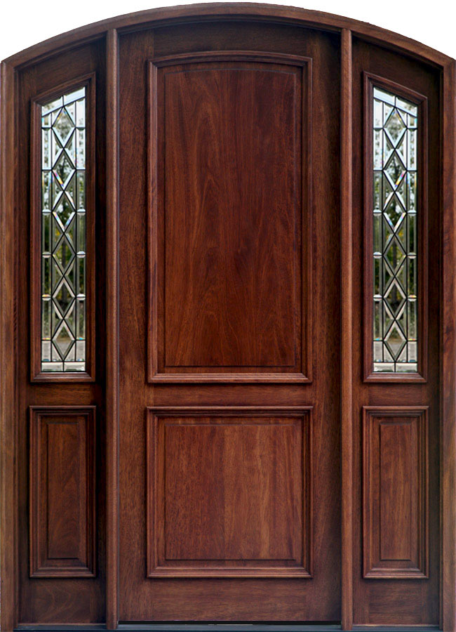 Arch Top Doors Bellagio Mahogany Doors Collection