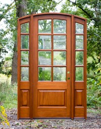 Sunrise French Doors Collection | Antique Cherry Finish