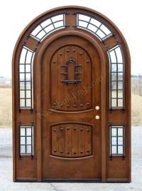 Rustic Arched Door - Pompano