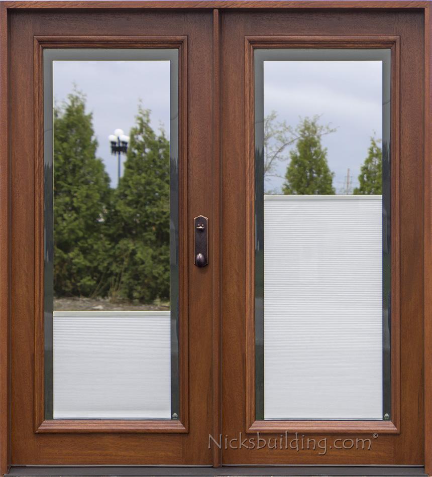 Single Patio Door With Built In Blinds. Shop ReliaBilt