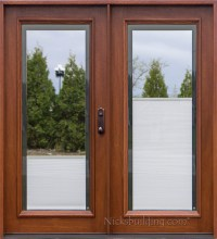 Single Patio Door With Built In Blinds. Shop ReliaBilt ...