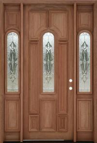 Exterior Mahogany Doors - Mahogany