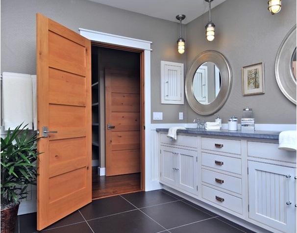 Rustic Interior Shaker Doors