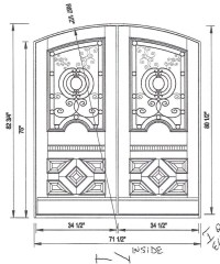 Custom Exterior Door Sizes