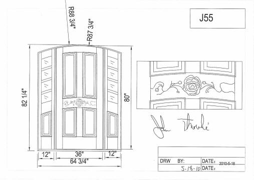 Custom Made Doors, Custom Wood Doors, Custom Glass Doors