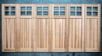 Wood Garage Doors | Wooden Overhead Door | Paint Grade ...