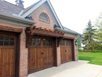 WOOD OVERHEAD GARAGE DOORS AND CARRIAGE GARAGE DOORS FOR