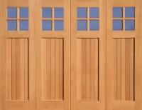 Craftsman garage door | Craftsman/Foursquare | Pinterest