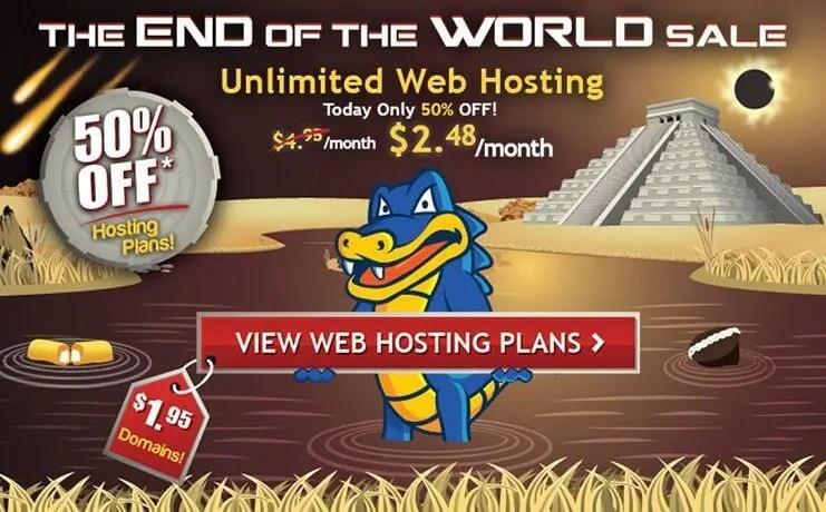Host Gator Discount 75% off