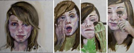 Transformation 2 portrait in progress
