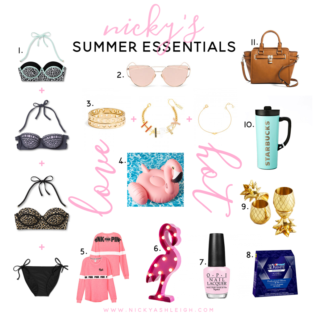 Nic's Summer Essentials 2016